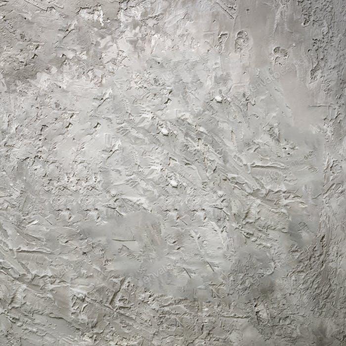 Grey abstract cement concrete background. Grunge texture, wallpaper. Blackboard. Top view, copy