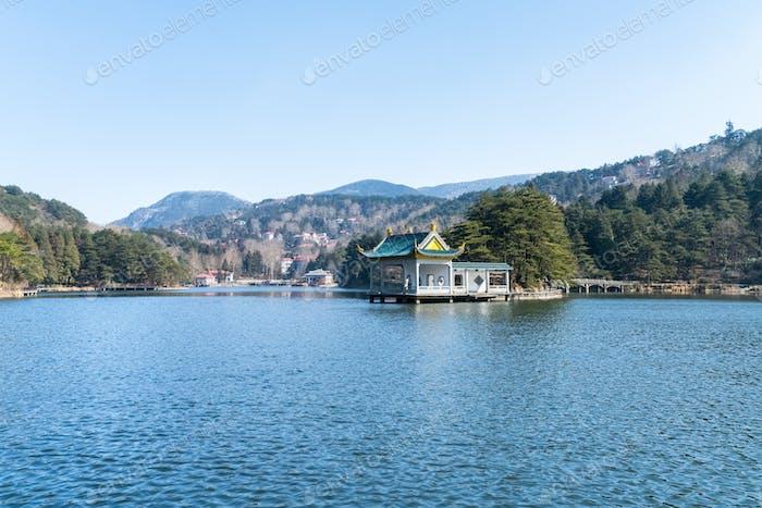Berg Lushan Landschaft
