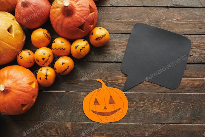 Halloween Lay plano con caja de cita