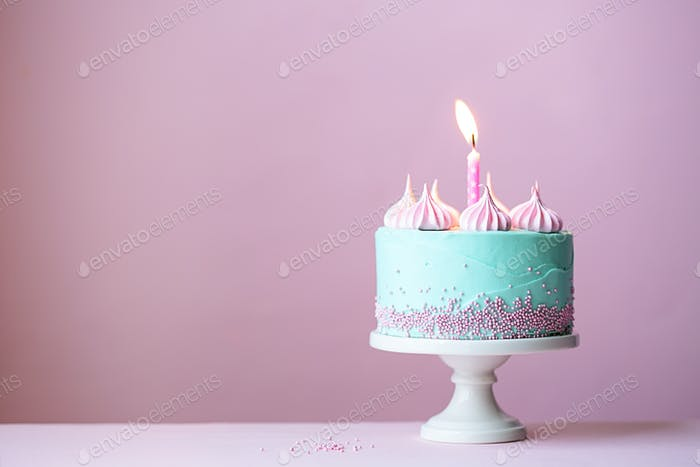 Birthday Cake Von RuthBlack