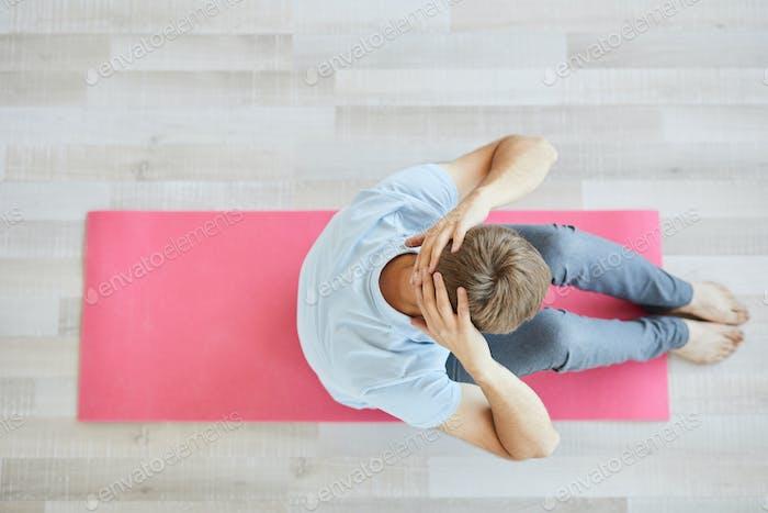 Exercising alone
