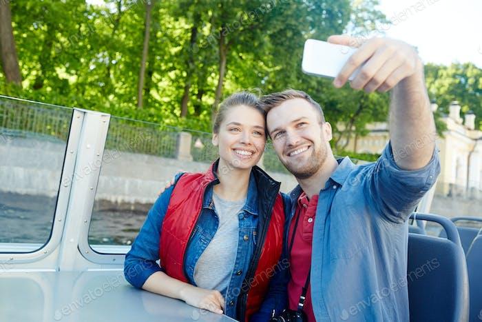 Voyage selfie
