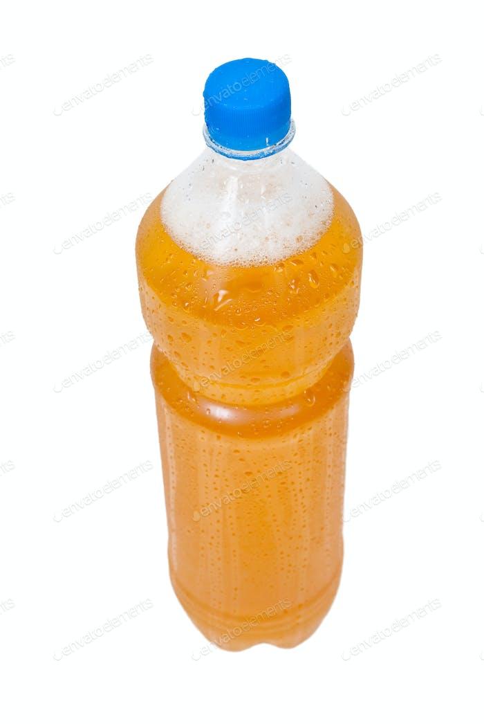 Plastikflasche Bier
