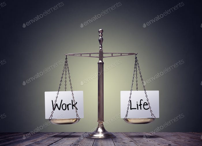 Thumbnail for Work life balance scales