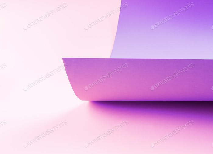 Abstract art paper pink and purple background
