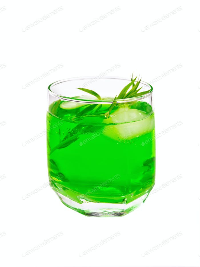 Lemonade Tarragon in glassful