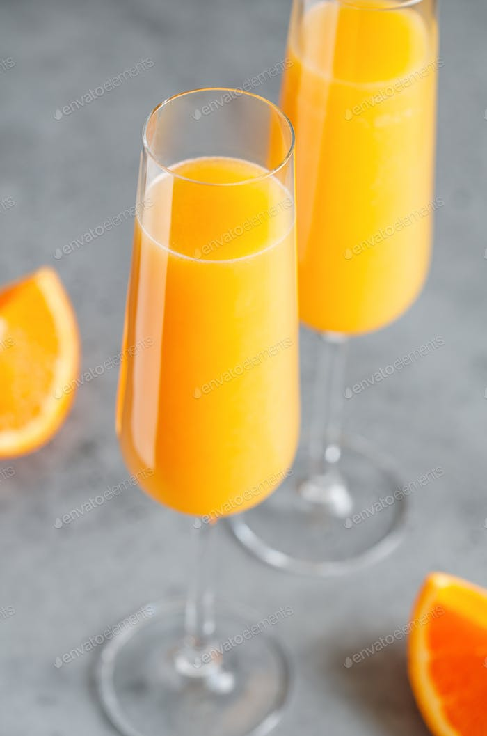Brunch Mimosa classic cocktail