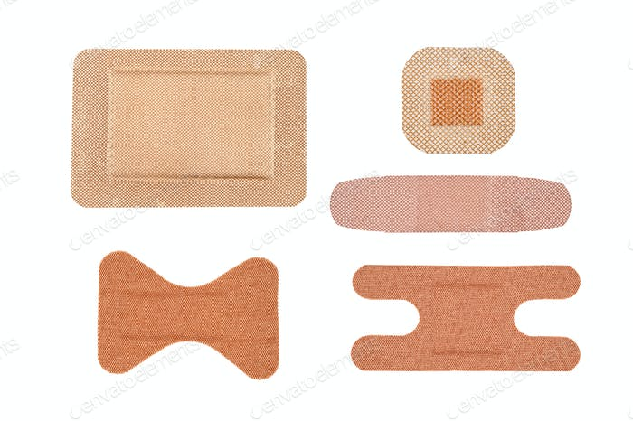 Assortment of adhesive bandages