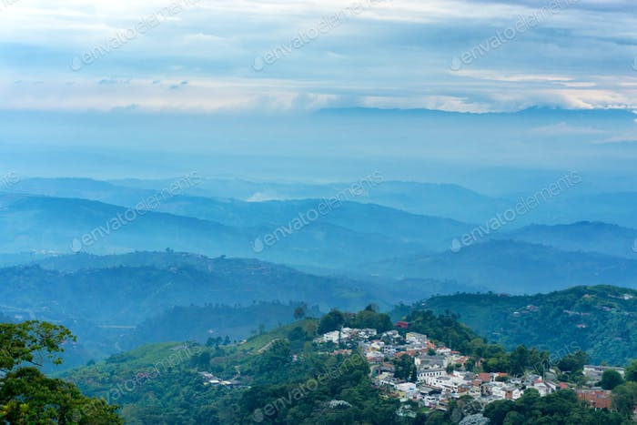 Rolling Hills Outside Manizales