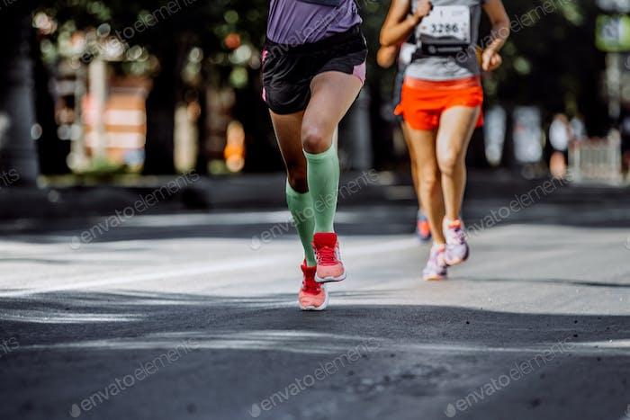 Feet Woman Athletes