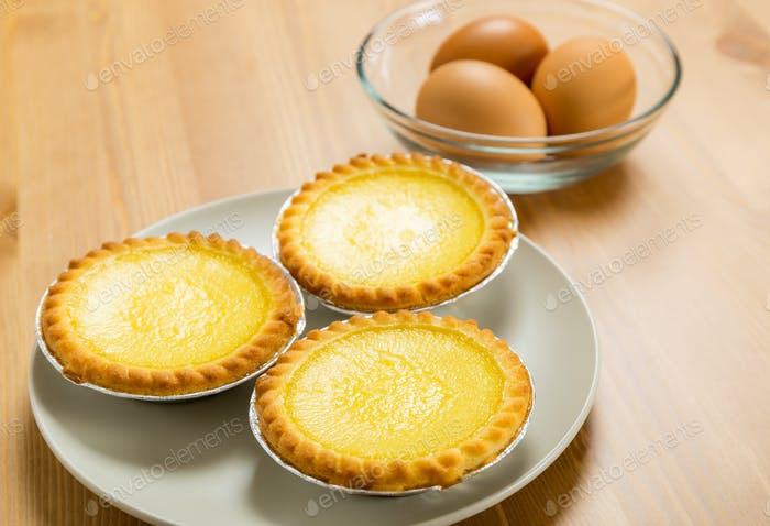 Eier-Törte und Ei