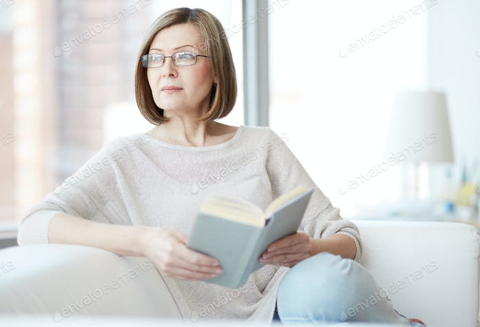 Reader at home