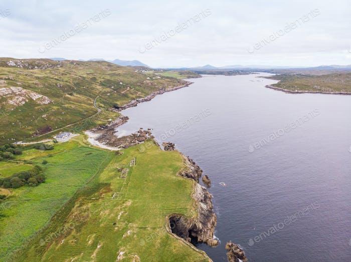Sky Road Aerial View