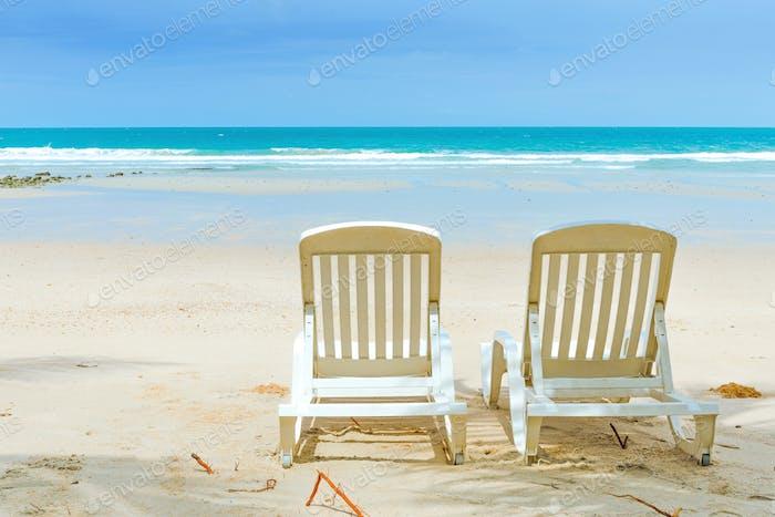 Пляж летом