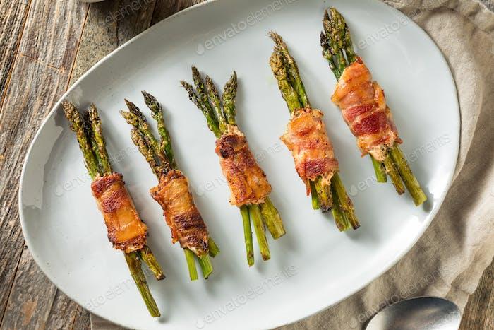 Homemade Bacon Wrapped Asparagus