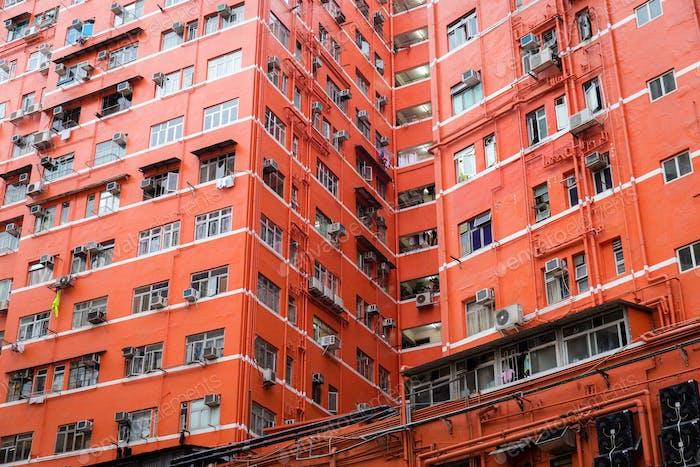 Alte Wohnung in Hongkong