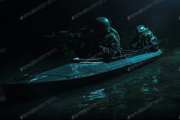 secret mission in the dead of night