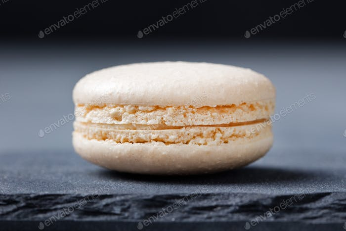 Thumbnail for Colorful French Macarons on the slate stone background