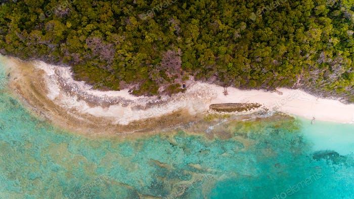Pungume island in Zanzibar