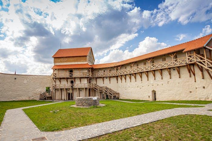 Feldioara newly restored medieval castle
