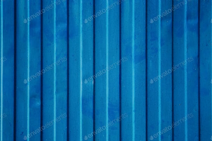 Blue cargo ship container texture.