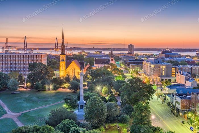 Charleston, South Carolina, USA Stadtbild