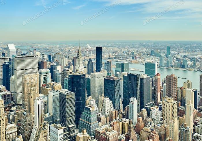 Stadtansicht von Manhattan