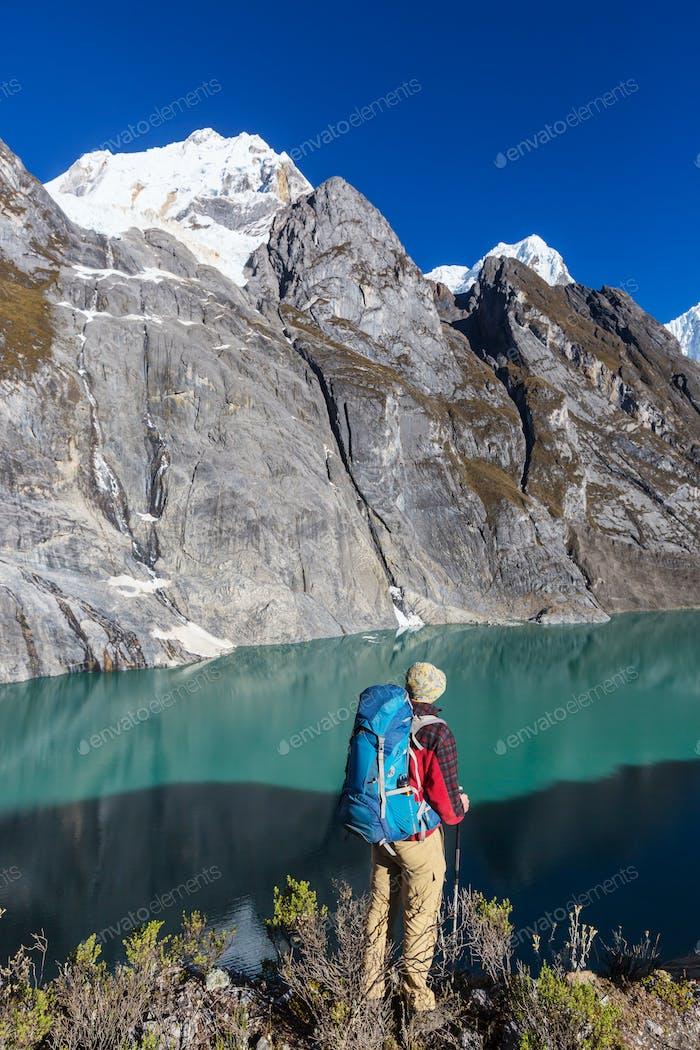Wanderung in Peru