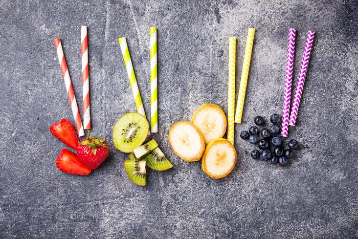 Ingredients for cooking healthy smoothies
