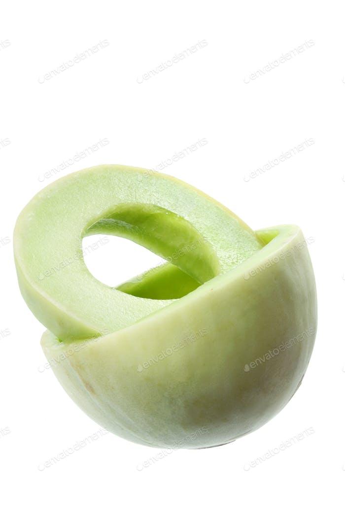 Slices of Honeydew Melon