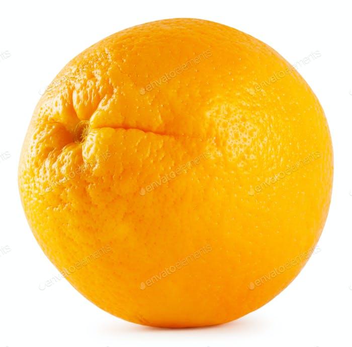 Round ripe orange