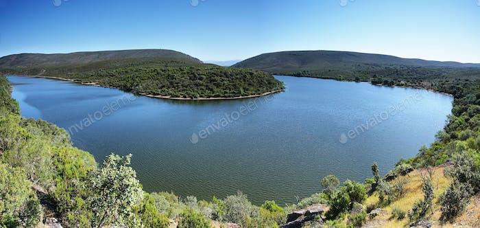 Meander of Tajo river