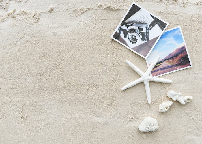 Beach Summer Holiday Vacation Traveling Photography Concept