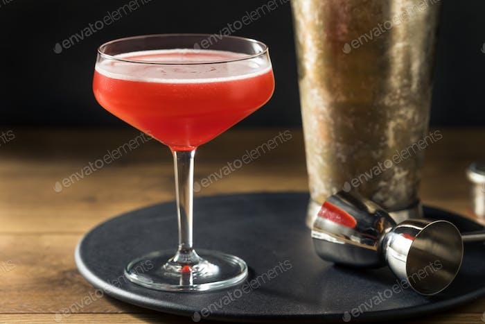 Boozy Refreshing Rye Scofflaw Cocktail