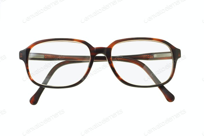 Old fashion plastic rim spectacles