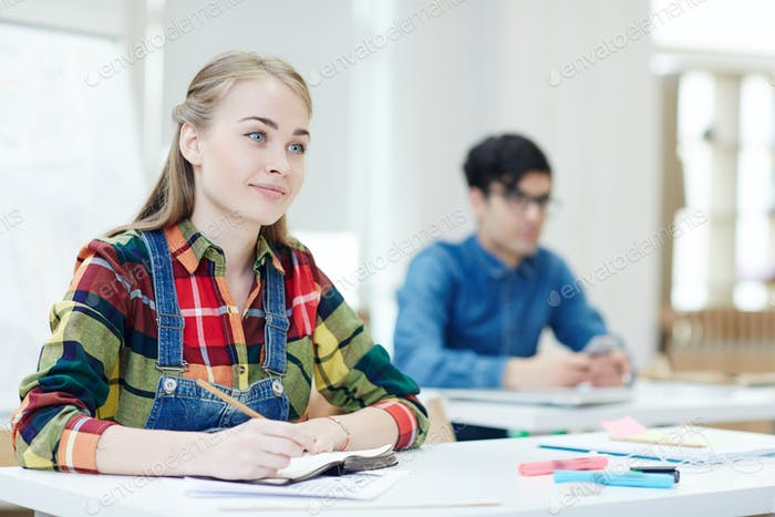 Attending class