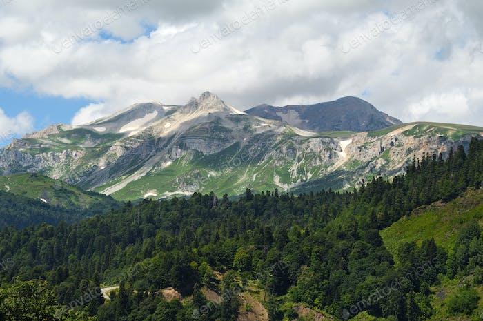Mount Oshten, Republik Adygea, Russland