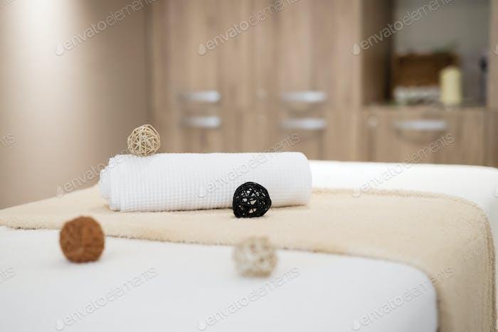 Massage room at resort