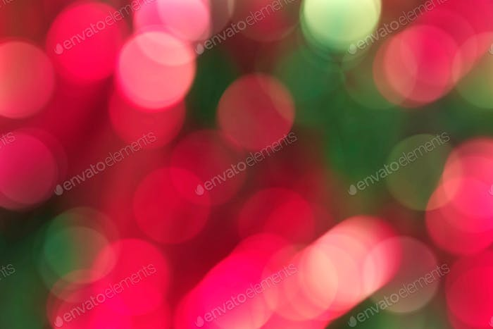 Bright colors with blurred background