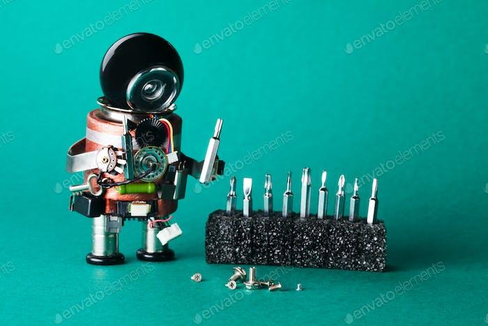Robot handyman