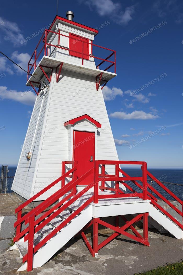 Fort Amherst Lighthouse in St. John's