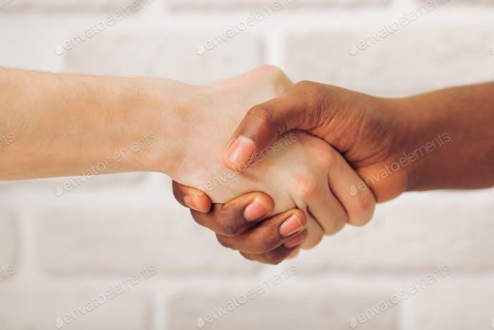 Многоэтнические руки