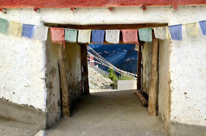 Tibetan gates