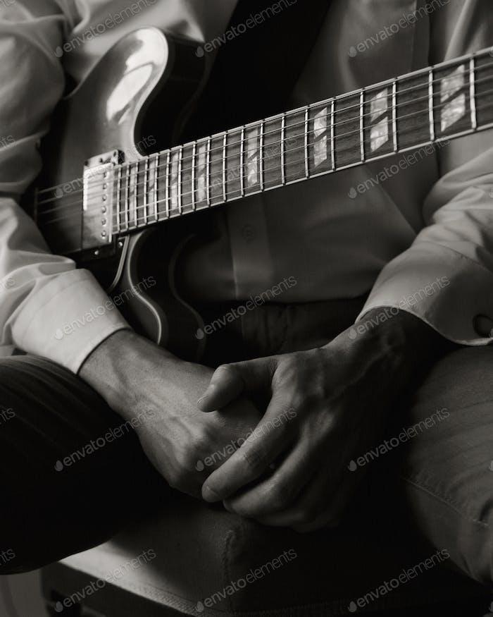 Musician's hands