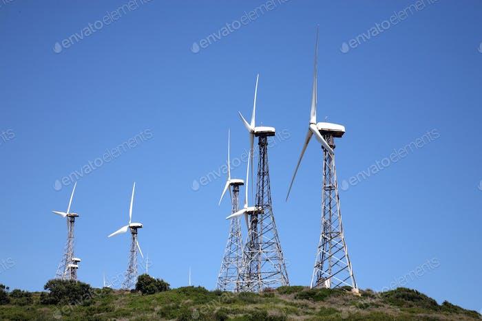 Tarifa wind mills