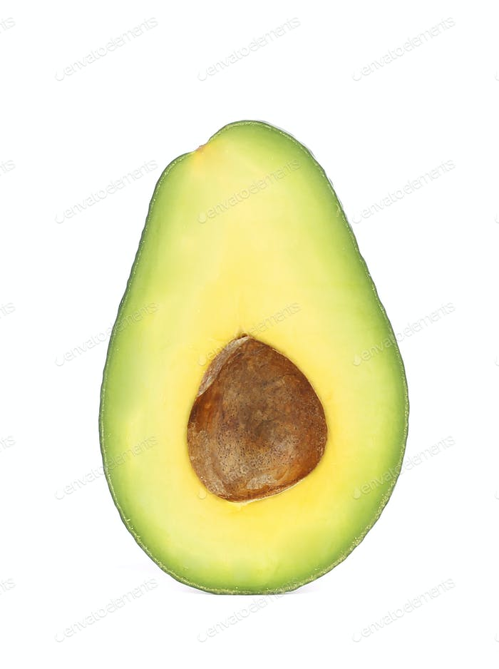 Half of avocado.