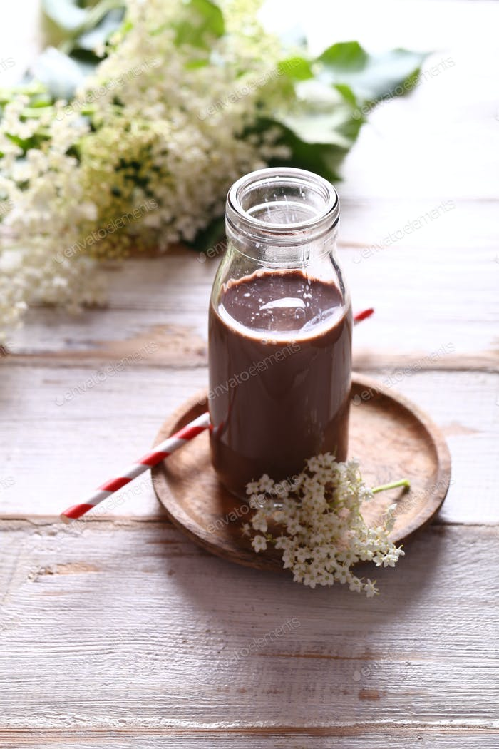 Schokoladenmilch-Shake