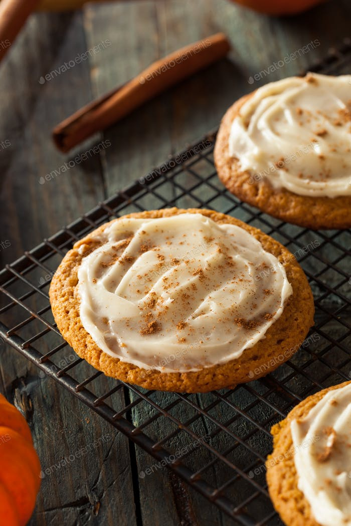Homemade Pumpkin Spice Cookies
