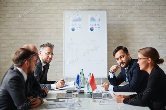 Meeting of leaders