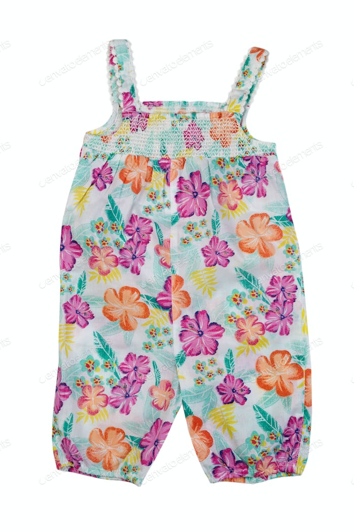 kids cotton jumpsuit.